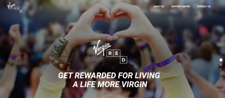 De app Virgin Red zal een belangrijke rol gaan spelen binnen het nieuwe programma