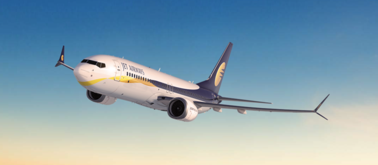 Boeing 737 Max 8 van Jet Airways (Bron: Jet Airways)
