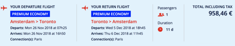 Flying Blue Promo Rewards September 2018