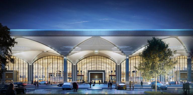 Een indruk van Istanbul New Airport (Bron: Istanbul New Airport)