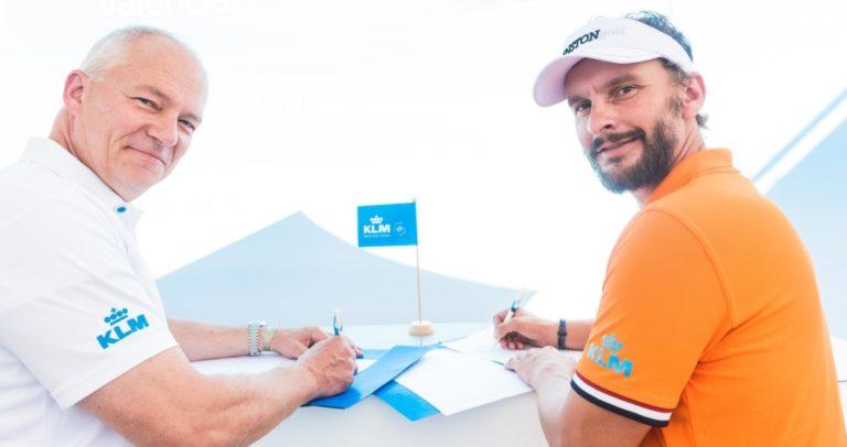 Joost Luiten zal de komende twee edities van het KLM Open weer gesponsord worden door KLM