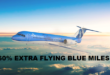 Flying Blue Miles met 60% bonus