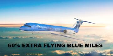 Flying Blue Miles met 60% bonus