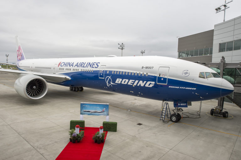 China Airlines (BEJ) Delivery Ceremony & Flyaway Photo Support LINDEMANN SARA N (2184006) rms300549 nef2016 777