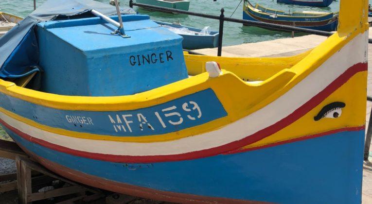 Boot Marsaxlokk, Malta