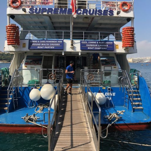 Boottocht Malta