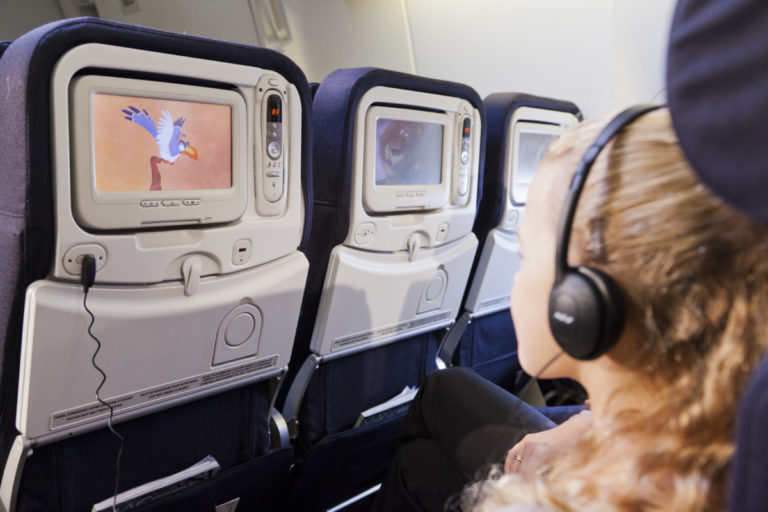 Entertainment systeem Air France