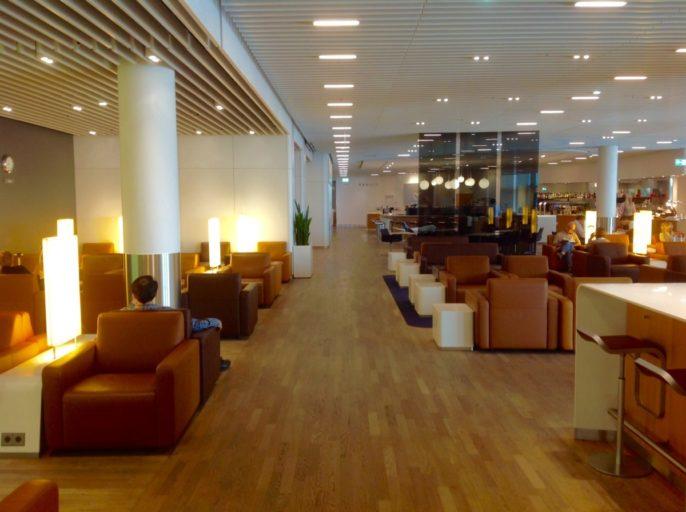 senator, lounge, Lufthansa, frankfurt