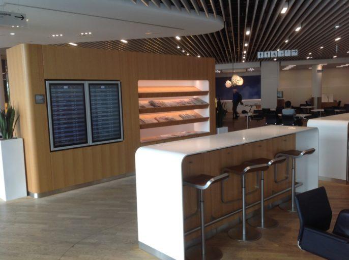 Lufthansa, senator lounge, frankfurt