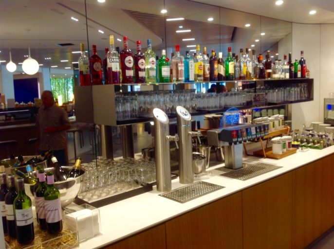 koude dranken, buffet, frankfurt,, senator lounge