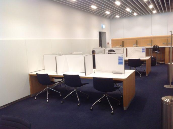 senator lounge, frankfurt, werkruimtes
