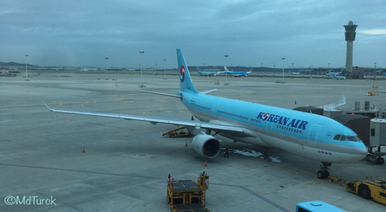 Review: Korean Air Airbus A330 Economy Seoul - Brisbane