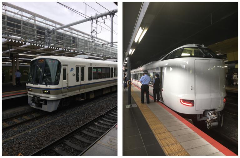 Japanse treinen in alle soorten en maten