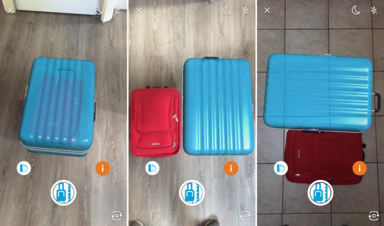 KLM voegt de Augmented Reality handbagagecheck aan nog een app toe.