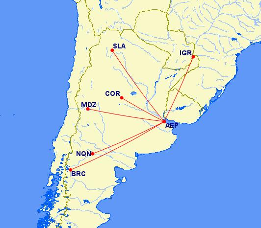 Argentinië; Norwegian