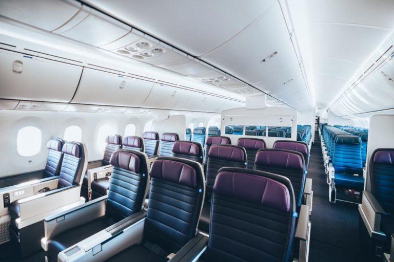 De United Premium Plus cabine (Bron: United)