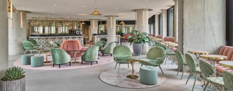 Veel groene en duurzame elementen bij het QO Amterdam Hotel (Bron: IHG)