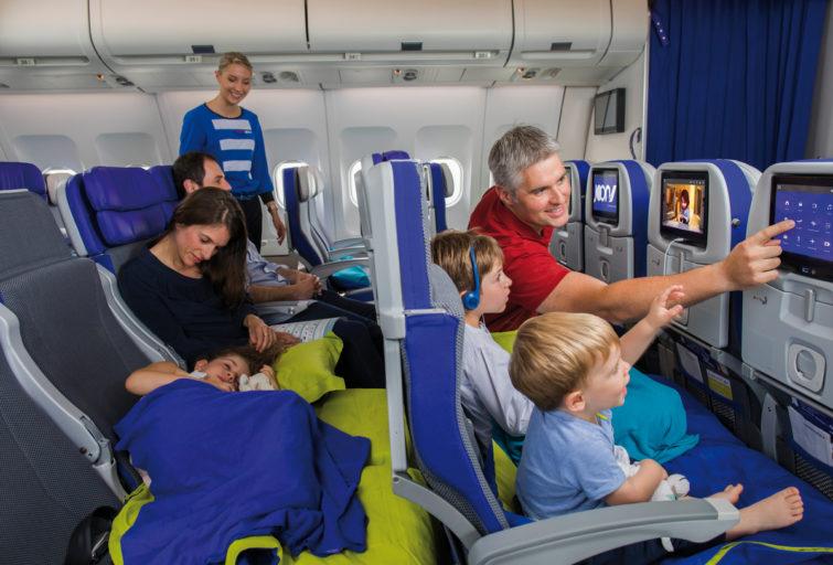 De Cozy Joon stoelen zijn beschikbaar op de Airbus A340 van Joon (Foto: Joon)