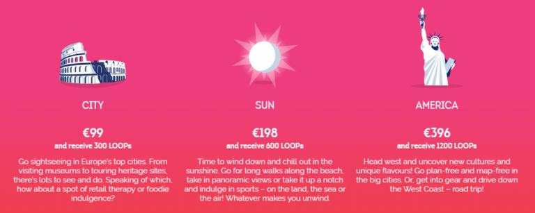 Je hebt keuze uit drie soorten bestemmingen (Bron: Brussels Airlines)