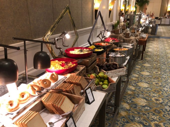 ontbijt, hilton bali resort