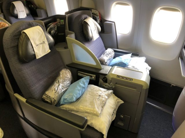 polaris, united, business class