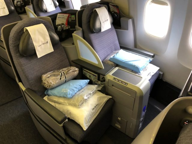 polaris, united airlines, business class