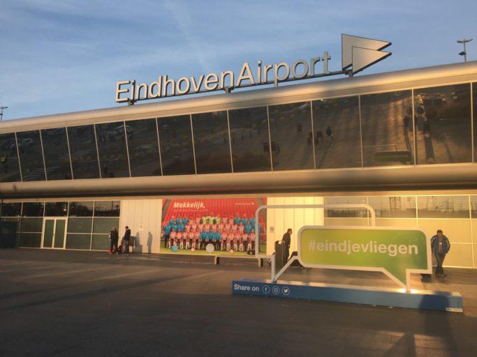 De terminal van Eindhoven Airport (Bron: Eindhoven Airport)