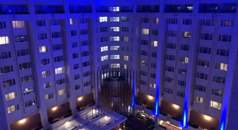 hilton, prague, review