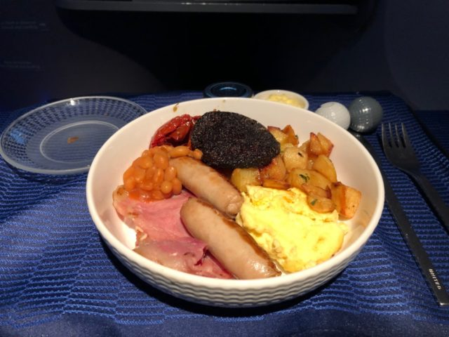 hoofdgerecht, united airlines, business class