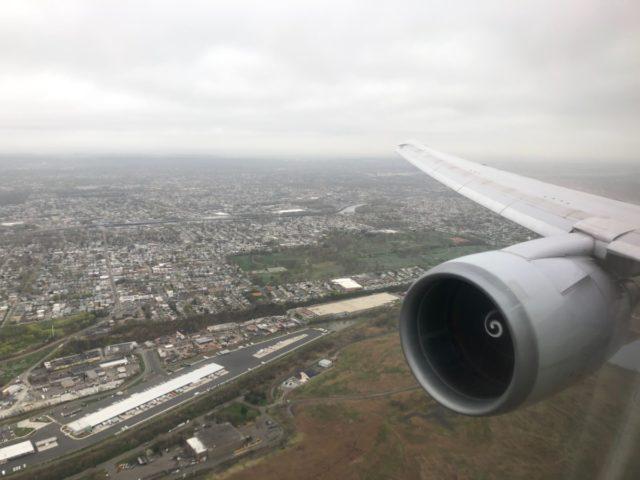 newark, landing