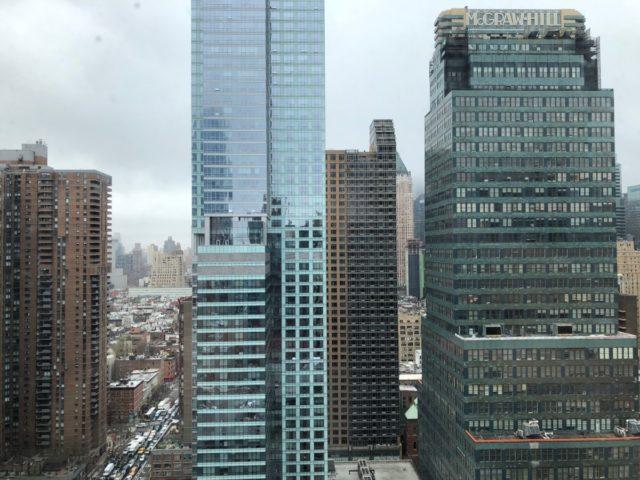 wolkenkrabbers, New York, hilton