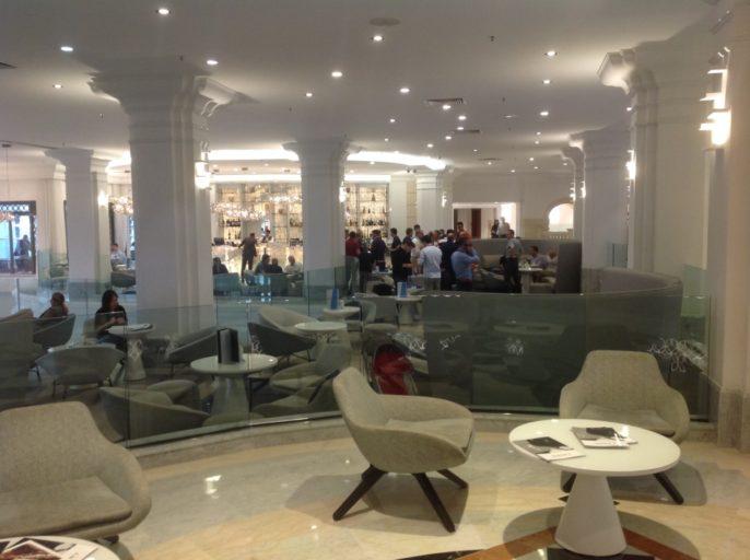 lobby, hilton malta