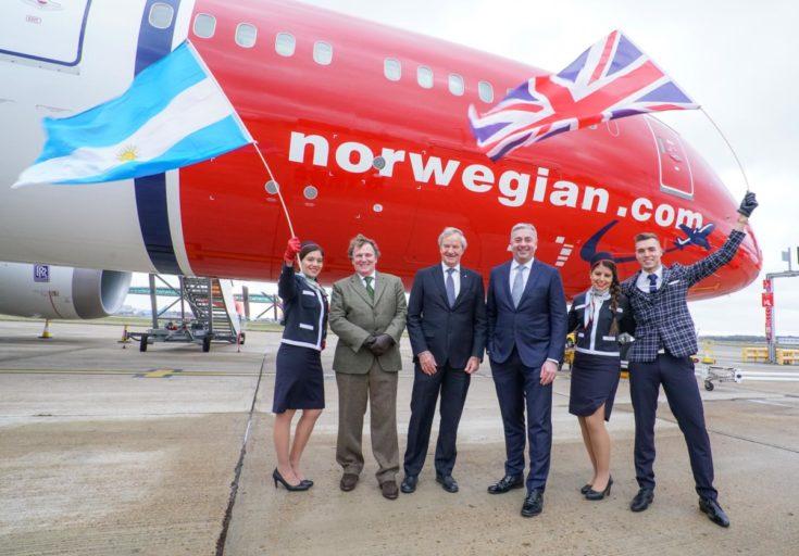 Norwegian naar swingend Brazilië