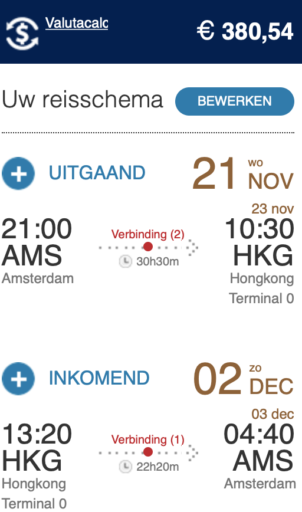 InsideDeals - SkyTeam Economy Deals naar Azië < €400,-