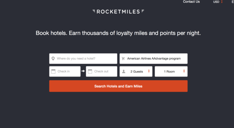 rocketmiles, frequent flyer miles, hotel
