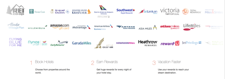 rocketmiles, hotel, frequent flyer miles