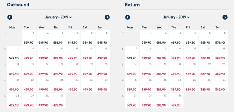 norwegian, premium, kalender, vluchten, Amsterdam, new York