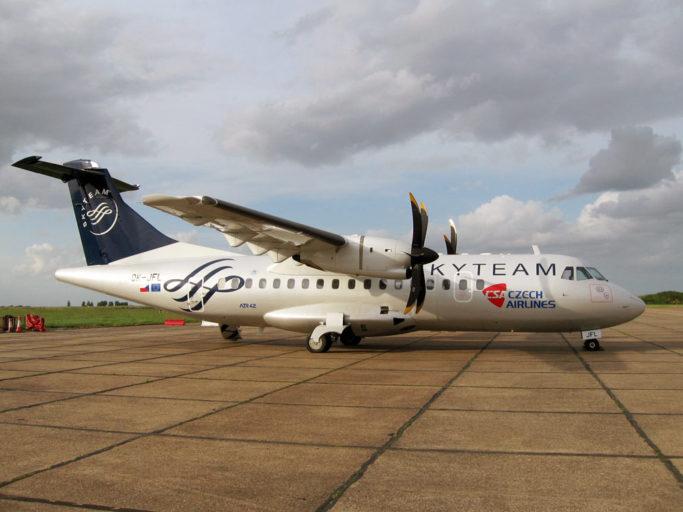 Welke toestellen vliegen er rond met een SkyTeam Livery?