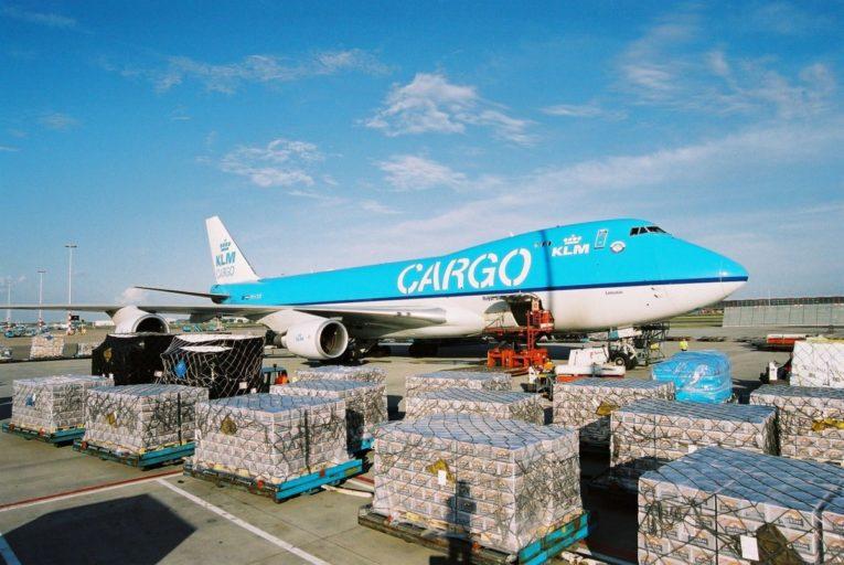 Boeing 747 vrachtvliegtuig van KLM (Bron: KLM)
