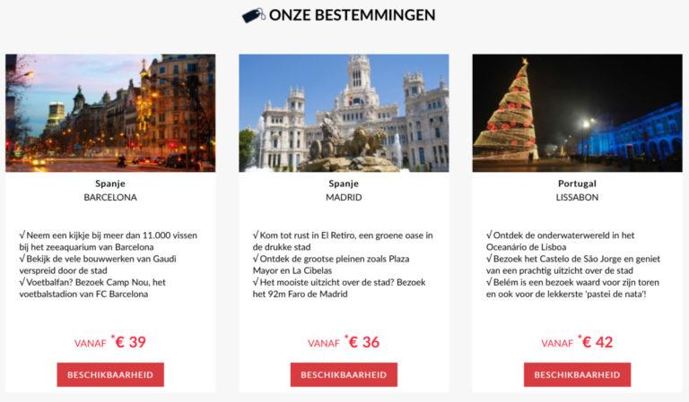 Een selectie van aanbiedingen in Spanje en Portugal (Bron: AccorHotels)