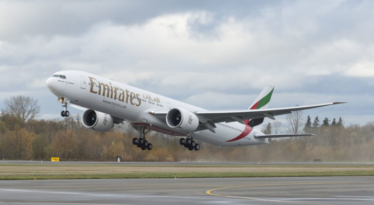 Emirates Boeing 777-300ER aircraft