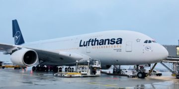 Lufthansa Ontvang A380 Met Nieuwe Livery