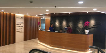 Review: Garuda Indonesia International Business Class Lounge Jakarta Airport