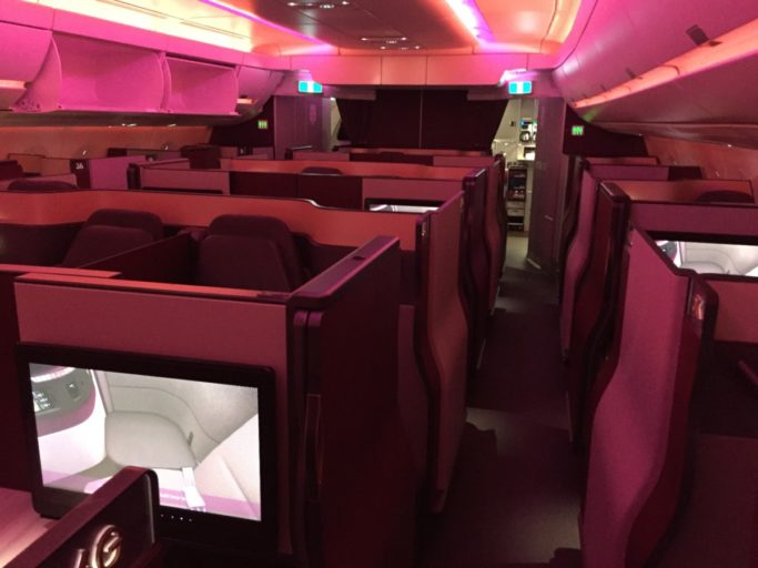 Qatar Airways QSuite A350-1000