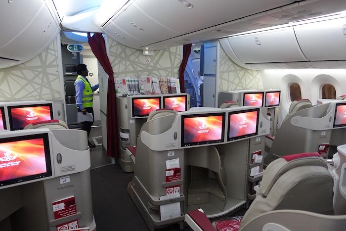 Royal Air Maroc Business Class 787