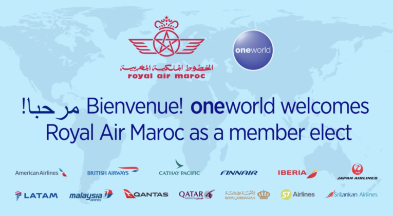 Royal Air Maroc wordt Oneworld lid