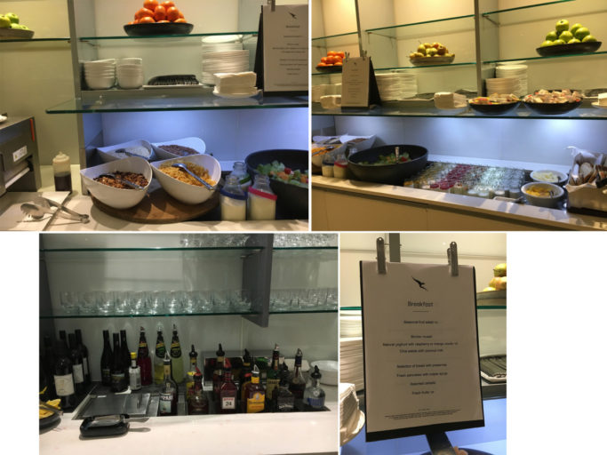 Review - Qantas Business Class Lounge Melbourne Airport