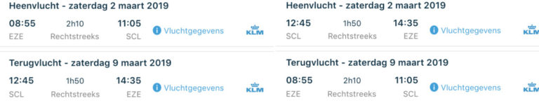 Welke Fifth Freedom Flights heeft KLM?