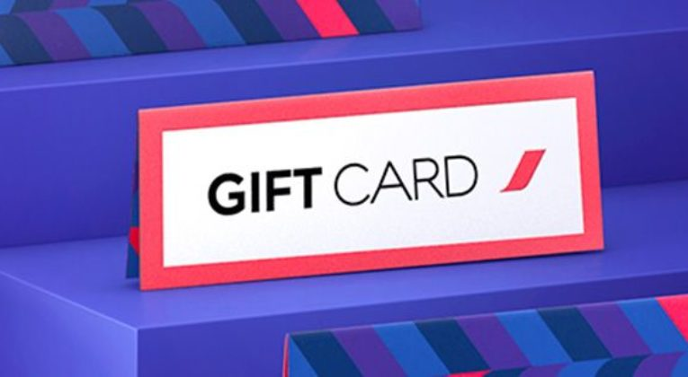 Air France Giftcard (Bron: Air France)