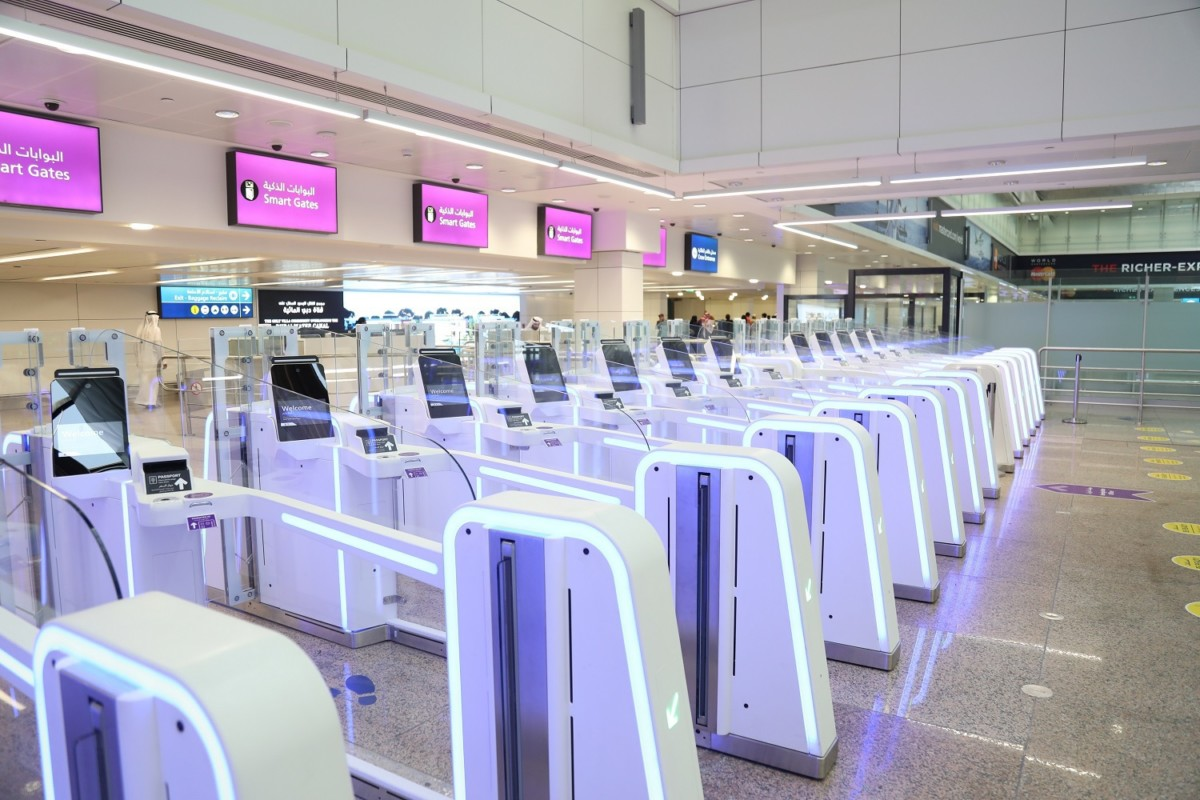 Dubai Airport smart gates